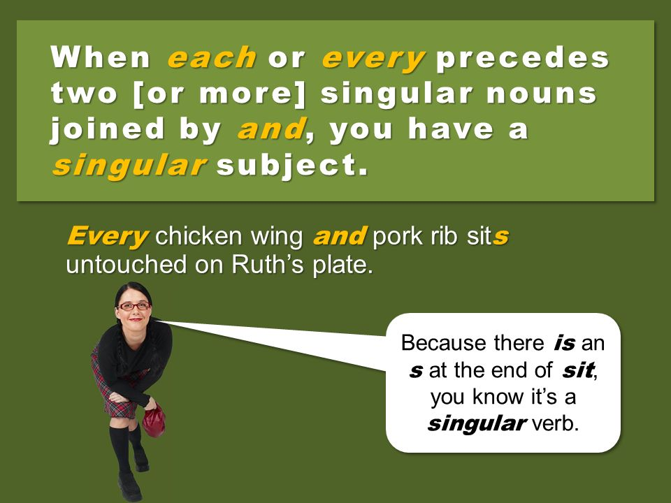 When each or every precedes two [or more] singular nouns joined by and, you have a singular subject.